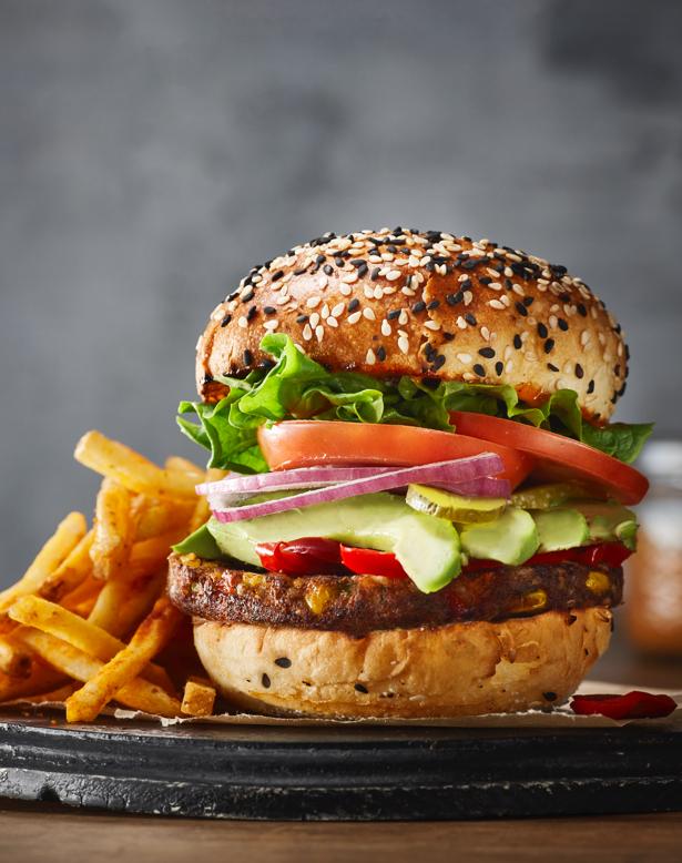 Sandwich et burger